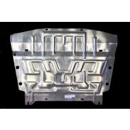 """Защита алюминиевая """"АвтоЩИТ"""" для картера двигателя Nissan Qashqai II 2013-2020. Артикул: 4502"""