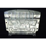 """Защита алюминиевая """"АвтоЩИТ"""" для картера и КПП Nissan Pathfinder R52 2014-2020. Артикул: 4506"""