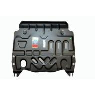 """Защита """"АвтоЩИТ"""" для картера и КПП Nissan Pathfinder R52 2014-2020. Артикул: 4507"""
