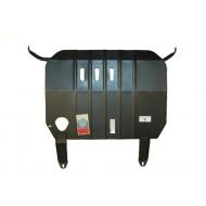 """Защита """"АвтоЩИТ"""" для картера двигателя и КПП Nissan Almera N16 1999-2006. Артикул: 4511"""