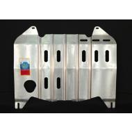 """Защита алюминиевая """"АвтоЩИТ"""" для картера двигателя и КПП Nissan Teana J32 седан 2008-2014. Артикул: 4548"""