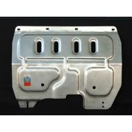 """Защита алюминиевая """"АвтоЩИТ"""" для картера двигателя и КПП Nissan Tiida 2004-2014. Артикул: 4550"""