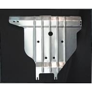 "Защита алюминиевая ""АвтоЩИТ"" для заднего бампера Nissan X-Trail T31 2007-2014. Артикул: 4559"