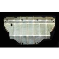 """Защита алюминиевая """"АвтоЩИТ"""" для радиаторов Nissan Pathfinder R51 2004-2014. Артикул: 4560"""