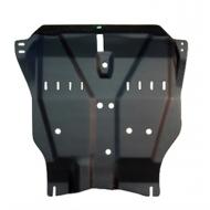 "Защита композитная ""АвтоЩИТ"" для картера двигателя и КПП Nissan Almera Classic АКПП 2006-2020. Артикул: 4584"