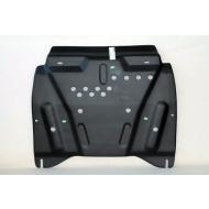 """Защита композитная """"АвтоЩИТ"""" для картера и КПП Nissan Pathfinder R52 2014-2020. Артикул: 4591"""