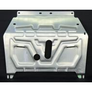 """Защита алюминиевая """"АвтоЩИТ"""" для картера двигателя и КПП Opel Mokka 2012-2020. Артикул: 4718"""