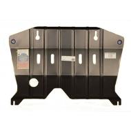 """Защита """"АвтоЩИТ"""" для картера двигателя и КПП Nissan Almera G15 2013-2020. Артикул: 5212"""