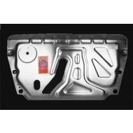 """Защита алюминиевая """"АвтоЩИТ"""" для картера двигателя и КПП Lexus RX 350 III универсал 2009-2015. Артикул: 6143"""