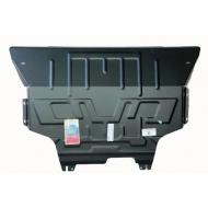 "Защита ""АвтоЩИТ"" для картера двигателя и КПП Audi A3 8V 2013-2020. Артикул: 6355"