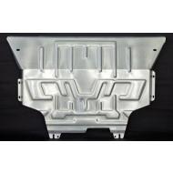 """Защита алюминиевая """"АвтоЩИТ"""" для картера двигателя и КПП Audi A3 8V 2012-2020. Артикул: 6356"""