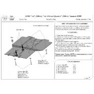 """Защита алюминиевая """"АвтоЩИТ"""" для АКПП Audi A6 Allroad Quattro С7 2014-2020. Артикул: 1315"""