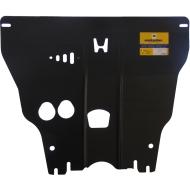 "Защита ""Motodor"" для картера, КПП Honda Jazz II 2009-2011. Артикул: 00828"