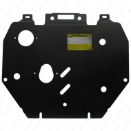 """Защита """"Motodor"""" для картера, КПП Honda Civic IX седан 2011-2020. Артикул: 00830"""