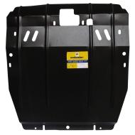 "Защита ""Motodor"" для картера, КПП Hyundai Santa Fe II 2006-2010, Santa Fe FL 2011-2012. Артикул: 00917"