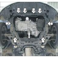 """Защита """"Motodor"""" для двигателя, КПП Mazda 6 II 2007-2012. Артикул: 01131"""