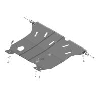 "Защита ""Motodor"" для картера, КПП Mitsubishi Space Wagon II 1992-1999. Артикул: 01305"