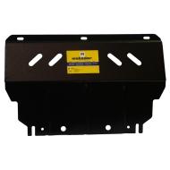 "Защита ""Motodor"" для радиатора, картера, дифференциала Mitsubishi L200 IV 2007-2015. Артикул: 01327"