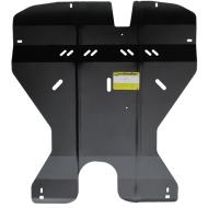 """Защита """"Motodor"""" для двигателя, КПП, переднего дифференциала, масляного фильтра Mitsubishi Galant VIII 1996-2006. Артикул: 01336"""