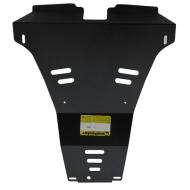 "Защита ""Motodor"" для заднего бампера Nissan X-Trail T31 2007-2014. Артикул: 01440"