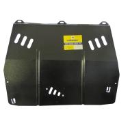 "Защита ""Motodor"" для картера, КПП Renault Laguna III 2007-2015. Артикул: 01703"