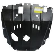 "Защита ""Motodor"" для двигателя и КПП Chevrolet Captiva 2014-2020.Артикул: 03037. Артикул: 03037"