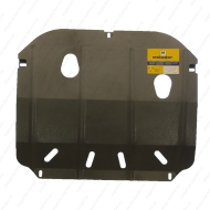 """Защита """"Motodor"""" для двигателя и КПП Iran Khodro Samand 2006-2020. Артикул: 03701"""