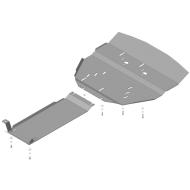 """Защита """"Motodor"""" для двигателя и КПП Hyundai Equus II седан 2009-2016. Артикул: 10903"""