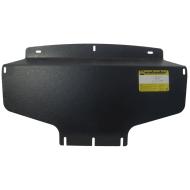 """Защита """"Motodor"""" для радитора Kia Mohave 2008-2020. Артикул: 11029"""