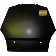"Защита ""Motodor"" для картера и КПП Mitsubishi Pajero IV 2006-2020. Артикул: 11320"