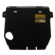 "Защита ""Motodor"" для картера, дифференциала, КПП и РК Infiniti III QX56 2010-2020. Артикул: 11407"