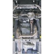 "Защита ""Motodor"" для картера, ПД, КПП, РК Dodge Ram IV (DS/DJ) 1500 2008-2019. Артикул: 12902"