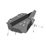 "Защита ""Motodor"" для компрессора пневмоподвески Lаnd Rover Discovery III 2005-2009. Артикул: 13217"