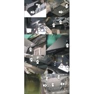 """Защита """"Motodor"""" для двигателя FAW Vita самосвал 2007-2020 6x4. Артикул: 23901"""