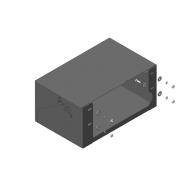 """Защита """"Motodor"""" для аккумулятора BAW Fenix 1044 RWD 2011-2020. Артикул: 25706"""