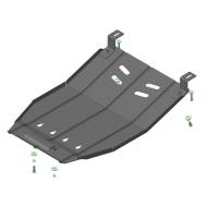 """Защита """"Motodor"""" для радиатора Isuzu NMR 85H 2012-2020. Артикул: 26406"""