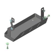 """Защита """"Motodor"""" для радиатора кондиционера Isuzu NMR 85H 2012-2020. Артикул: 26407"""