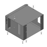 "Защита ""Motodor"" для аккумулятора Isuzu FSR 90 2013-2020. Артикул: 26413"