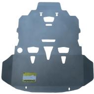 """Защита алюминиевая """"Motodor"""" для двигателя, КПП Audi A6 C6 Quattro седан 2004-2008. Артикул: 30101"""