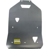 "Защита алюминиевая ""Motodor"" для картера и КПП Audi A8 D4 Quattro 2009-2020. Артикул: 30106"
