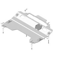 "Защита алюминиевая ""Motodor"" для картера, КПП Mazda CX-9 2007-2012. Артикул: 31103"