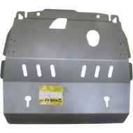 """Защита алюминиевая """"Motodor"""" для картера, КПП Renault Koleos 2008-2020. Артикул: 31701"""