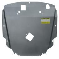 """Защита алюминиевая """"Motodor"""" для двигателя, КПП, ременя генератора Chevrolet Captiva 2011-2014. Артикул: 33006"""