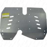 "Защита алюминиевая ""Motodor"" для бензобака Lаnd Rover Evoque I 2011-2018. Артикул: 33215"