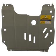 """Защита алюминиевая """"Motodor"""" для картера, КПП Chevrolet Cruze 2009-2020. Артикул: 333005"""