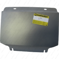 """Защита алюминиевая """"Motodor"""" для радиатора, двигателя, ПДФ, КПП, РК Cadillac Escalade 2011-2014. Артикул: 33506"""