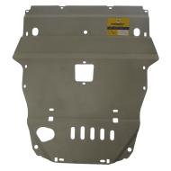 """Защита алюминиевая """"Motodor"""" для картера Lexus GS 300 2008-2012. Артикул: 35001"""