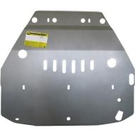 """Защита алюминиевая """"Motodor"""" для картера и КПП Mini Сooper Countryman S 2010-2020. Артикул: 37002"""