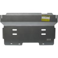 """Защита алюминиевая """"Motodor"""" для радиатора, двигателя, ПДФ, КПП, РК Dodge Ram IV 1500 2009-2020. Артикул: 382901"""