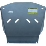 "Защита алюминиевая ""Motodor"" для двигателя, ПДФ, КПП Dodge Ram III 1500 2002-2008. Артикул: 382902"